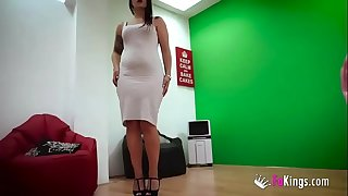 Heavy stud drills Manut's hot wife