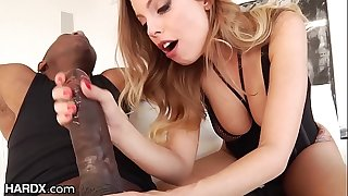 HardX Britney Amber Is Liking Anal From Mandingo's BBC