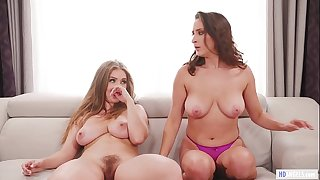 GIRLSWAY - Pledge master wants some fresh pussies! - Carter Cruise, Ashley Adams and Lena Paul
