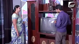 Desi Aunty Romance with cable talented
