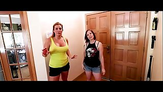 Blackmailing Mom and Aunt - Part 1 Starring Jane Cane and Wade Cane from Shiny Hard-on Films