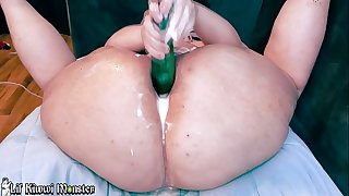 Huge GAPING Compilation - Cum see this PAWG Stuff her Asshole!!!