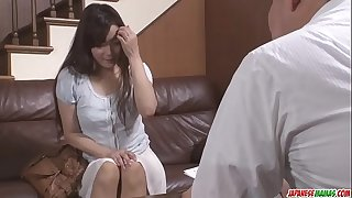 Japanese pornography with an old guy for Mizuki Ogawa