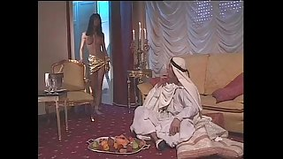 Venere Bianca pornstar is a lovemaking slave banged by an arabian sultan